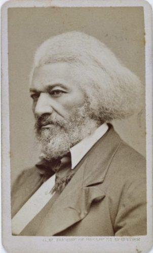 Frederick Douglass in 1876, op circa 58-jarige leeftijd (Publiek Domein - wiki)
