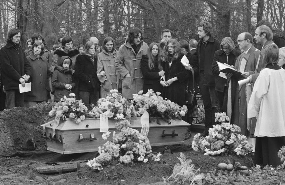 Begrafenis van dienstplichtig soldaat Leo Bulter (Wiki Commons)