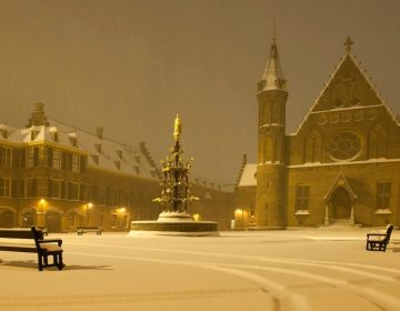 De dageraad van Holland - Ridderzaal in de sneeuw (CC BY 2.0 - Minister-president Rutte)