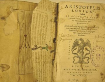 Uitgave van Aristoteles' Logica uit 1570 (CC BY-SA 3.0 - Biblioteca Huelva)