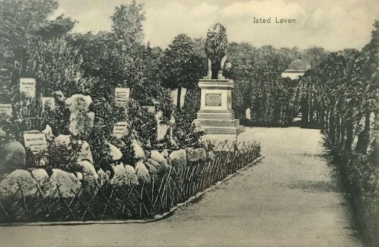 De leeuw van Idstedt in Flensburg: een grensgeval.
