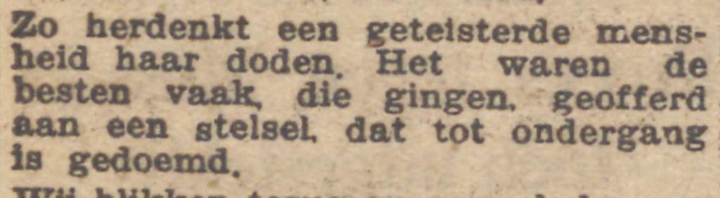 De Waarheid, 2 november 1945 (Delpher)