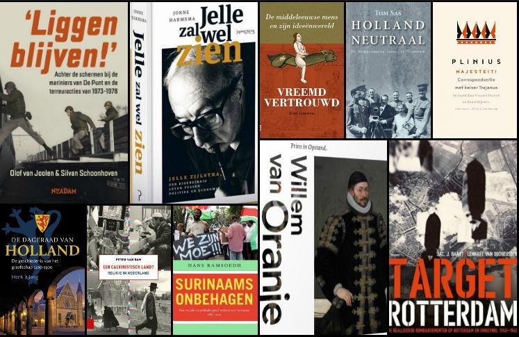 Nieuwe geschiedenisboeken (week 47) - 2018