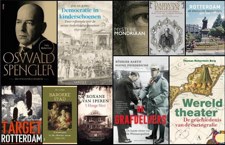 Nieuwe geschiedenisboeken (week 48) - 2018