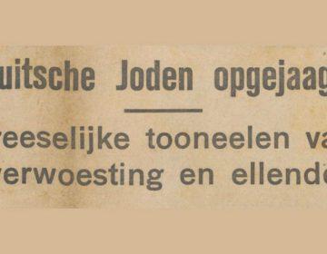 Kop in De Banier van 11 november 1938 (Delpher)