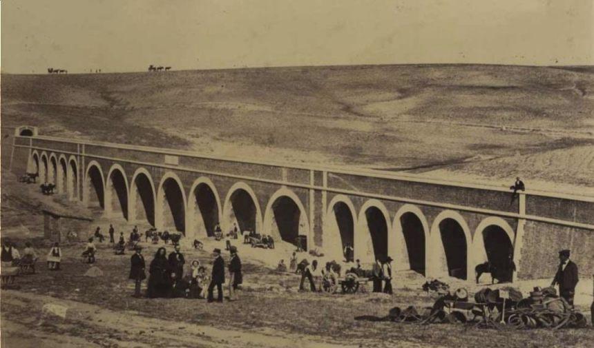 Aanleg van het Canal de Isabel II - Charles Clifford, ca. 1856 (Publiek Domein - wiki)