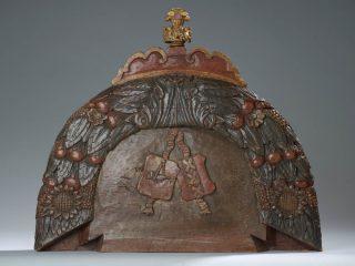 Achterkant 18e eeuws hakkebord - Collectie Het Scheepvaartmuseum