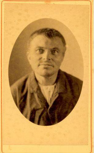Bastiaan Beekman in 1887 - Foto: Collectie Gevangenismuseum