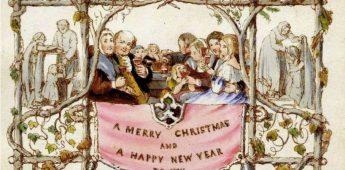 Geschiedenis van de kerstkaart