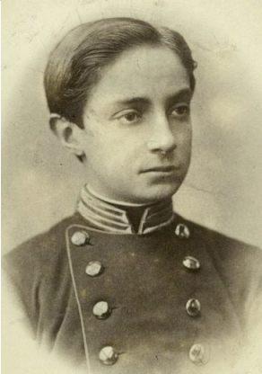 De jonge kroonprins Alfons