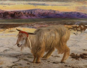 De zondebok - William Holman Hunt (Publiek Domein - wiki)
