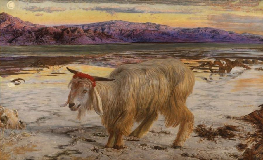 De zondebok - William Holman Hunt (Publiek Domein - wiki)