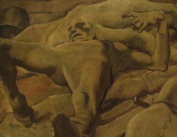Finale (1918) - Albin Egger-Lienz (Publiek Domein - wiki)