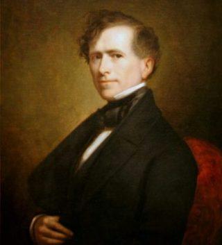 Franklin Pierce, de 14e president van de Verenigde Staten