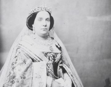 Isabella II van Spanje in 1860 - José Albiñana - Museo Del Prado (Publiek Domein - wiki)