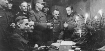 Zo moesten Duitsers in 1944 kerst vieren