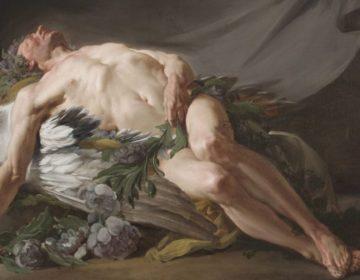 Morpheus volgens Jean-Bernard Restout