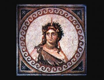 Mozaïek van Dionysos (2e-3e eeuw n.Chr., Antiochië, Turkije).