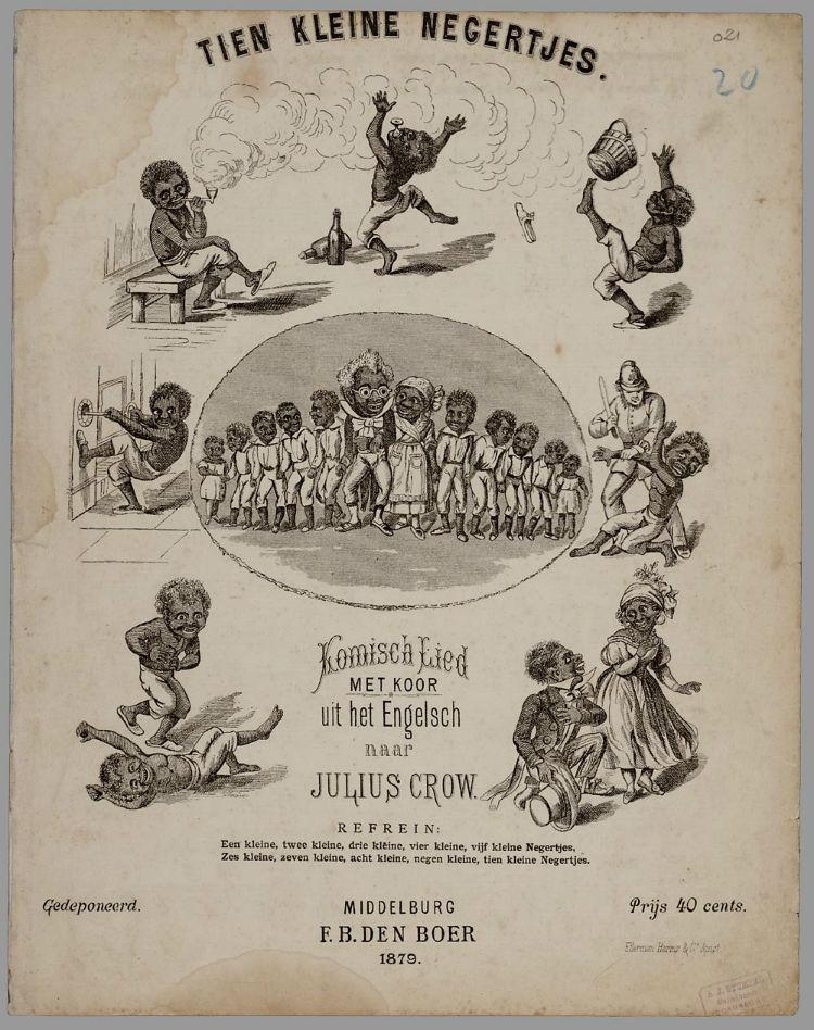 Nederlands bladmuziekuitgave uit 1879