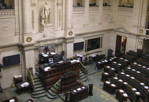 Rechtsstaat - Kamer van het Belgische Federaal Parlement (CC BY-SA 2.0 - François Lambregts - wiki)