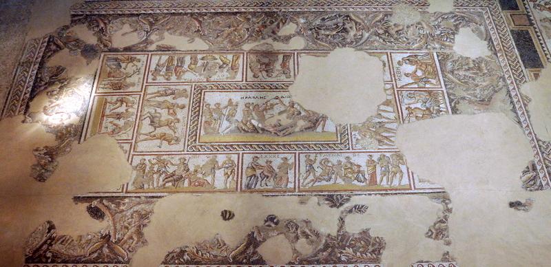 Sepforis, Huis met het Dionysosmozaïek