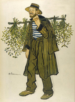 The Mistletoe (maretak) Seller - Adrien Barrère