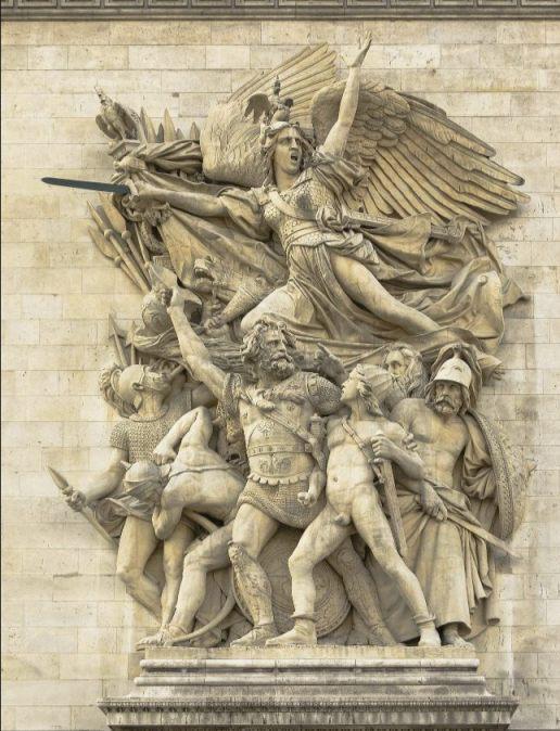 Le Départ de 1792, La Marseillaise (cc0 - Jebulon)