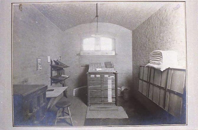 Werkcel - Foto: Collectie Gevangenismuseum