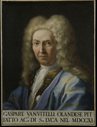 Luigi Vanvitelli, Portret van Caspar van Wittel, ca. 1725, olieverf op doek, 66,6 x 49,8 cm, 455, Courtesy Accademia Nazionale di San Luca, Rome