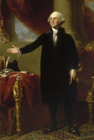 George Washington volgens Gilbert Stuart
