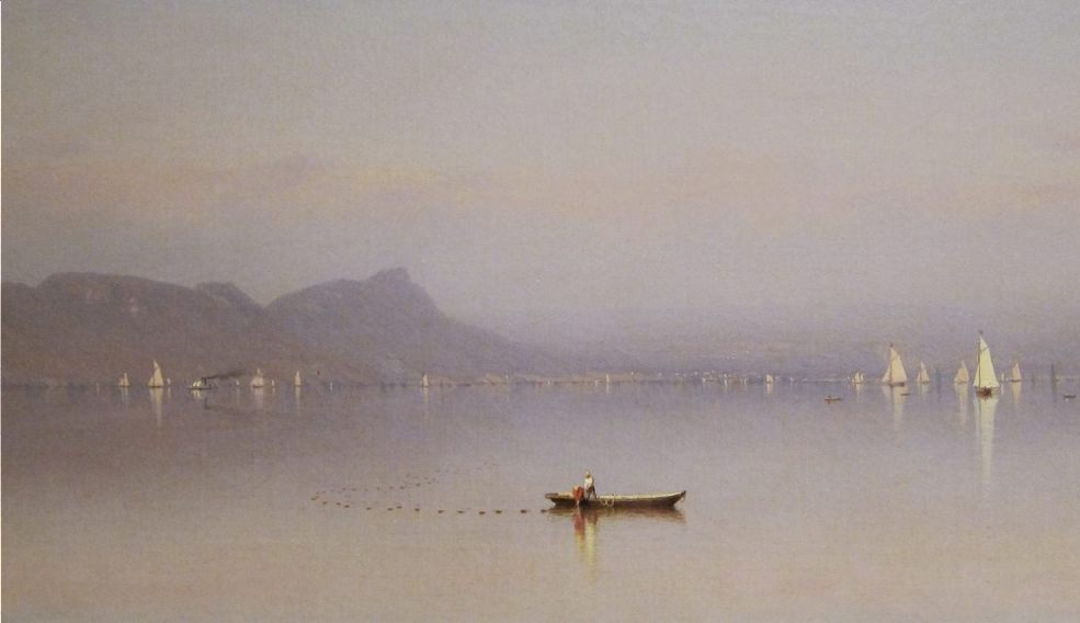 Morning in the Hudson - Sanford Robinson Gifford (Publiek Domein - wiki)