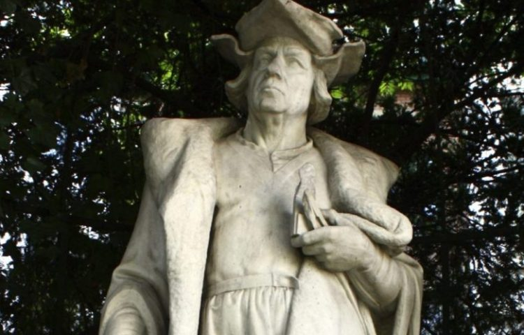 Standbeeld van Lodewijk van Bodegem (CC BY-SA 3.0 - M0tty - wiki)