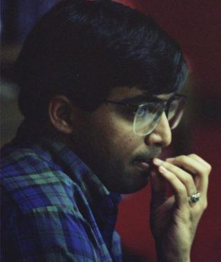 Viswanathan Anand in 1992 in Manila (CC BY 3.0 - Gerhard Hund - wiki)
