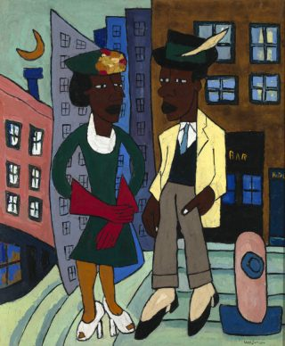 Street Life Harlem, 1939 - William Henry Johnson (Wallraf-Richartz-Museum)