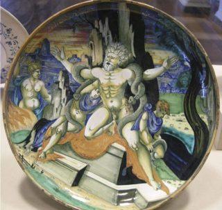 Zestiende-eeuwse verbeelding van de dood van Laokoön (CC BY-SA 3.0 - Sailko - wiki)