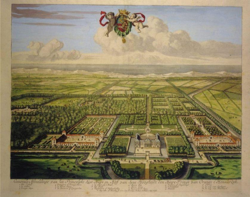 Huis Honselaarsdijk, circa 1683