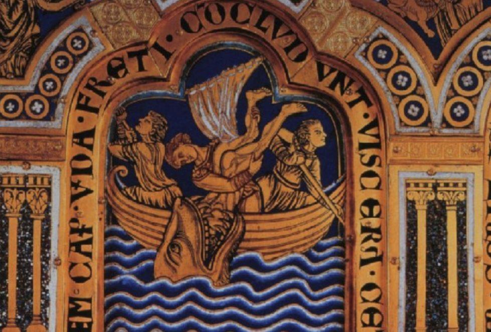 Jonassen - De profeet Jona wordt overboord gegooid (Publiek Domein - wiki)