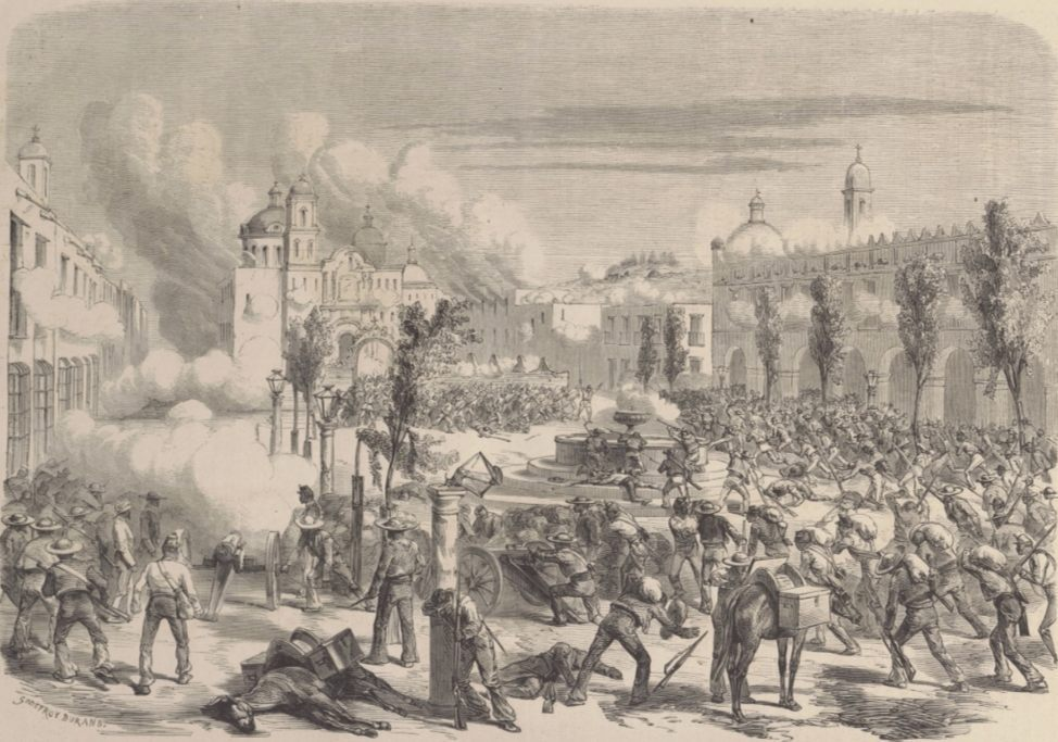 Slag bij Tacámbaro (Publiek Domein - wiki)