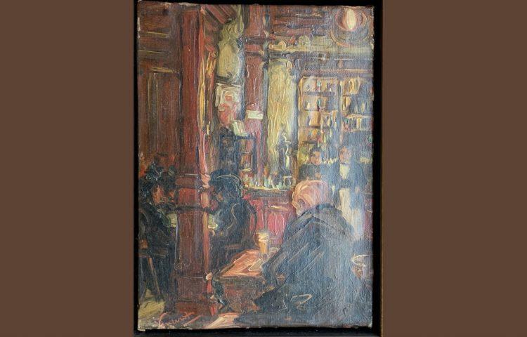 Het nagelaten schilderij - Foto: Van Gogh Huis in Drenthe