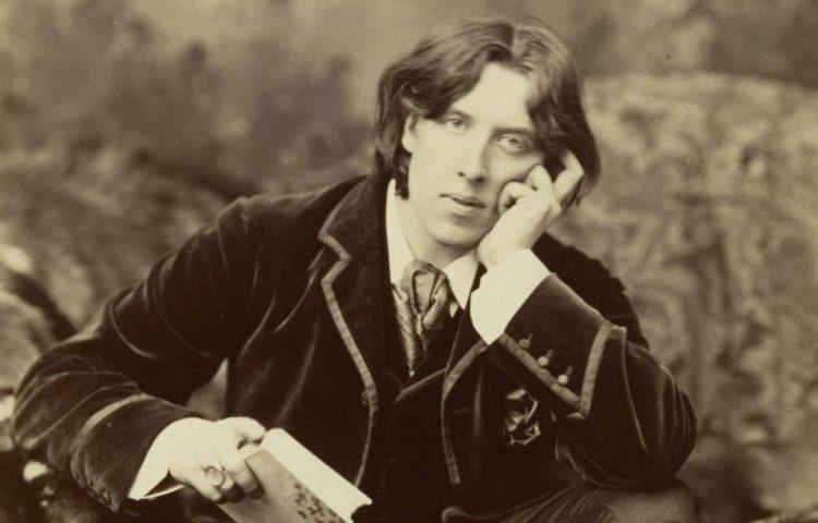 Foto van Oscar Wilde uit 1882 door Napoleon Sarony
