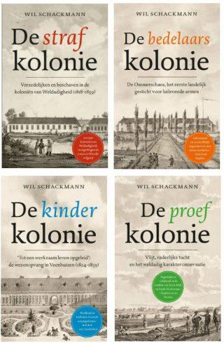 Boeken van Wil Schackmann over de Koloniën van Weldadigheid