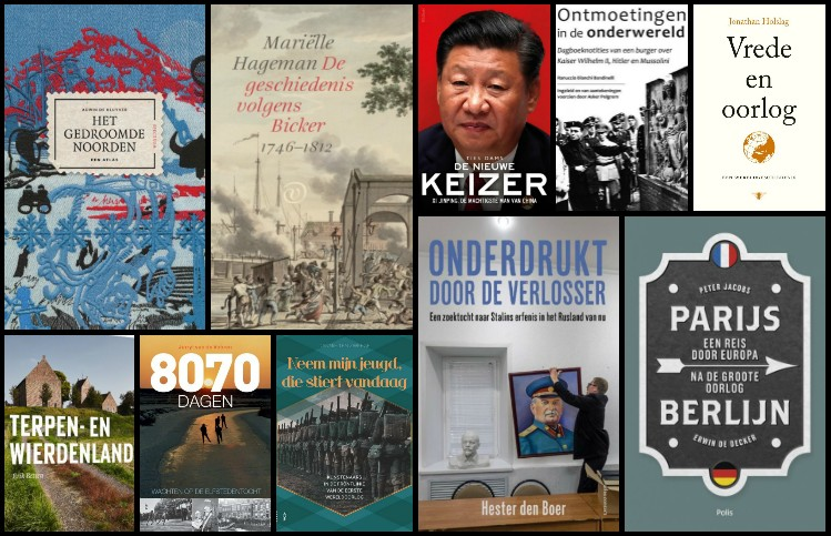 Nieuwe geschiedenisboeken (week 1/2) - 2019