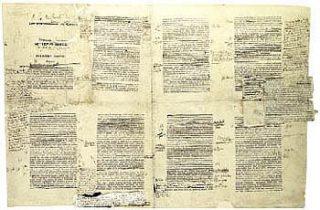Manuscript van À la recherche du temps perdu - Marcel Proust (Publiek Domein - wiki)