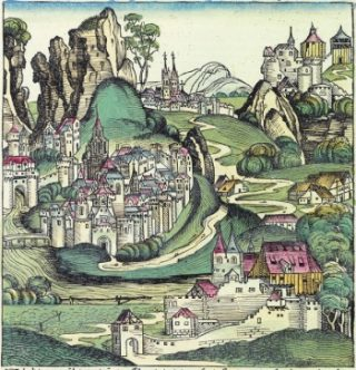 Walachije in een afbeelding uit 1493