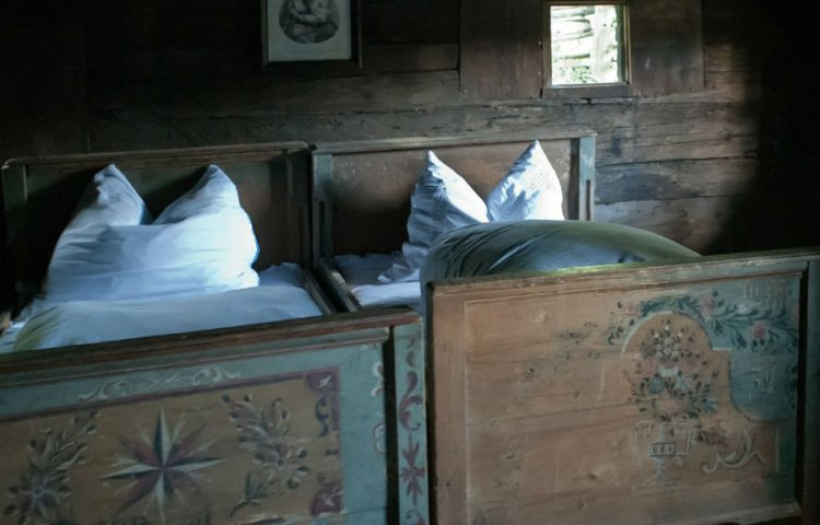 Oude slaapkamer (CC0 - Pixabay - RonPorter)