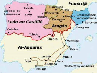 Spanje rond 1120
