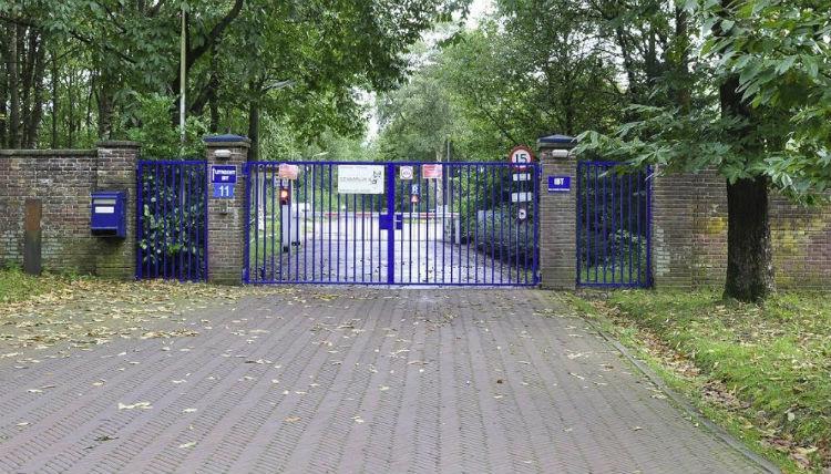 De huidige poort (Kamp Amersfoort)