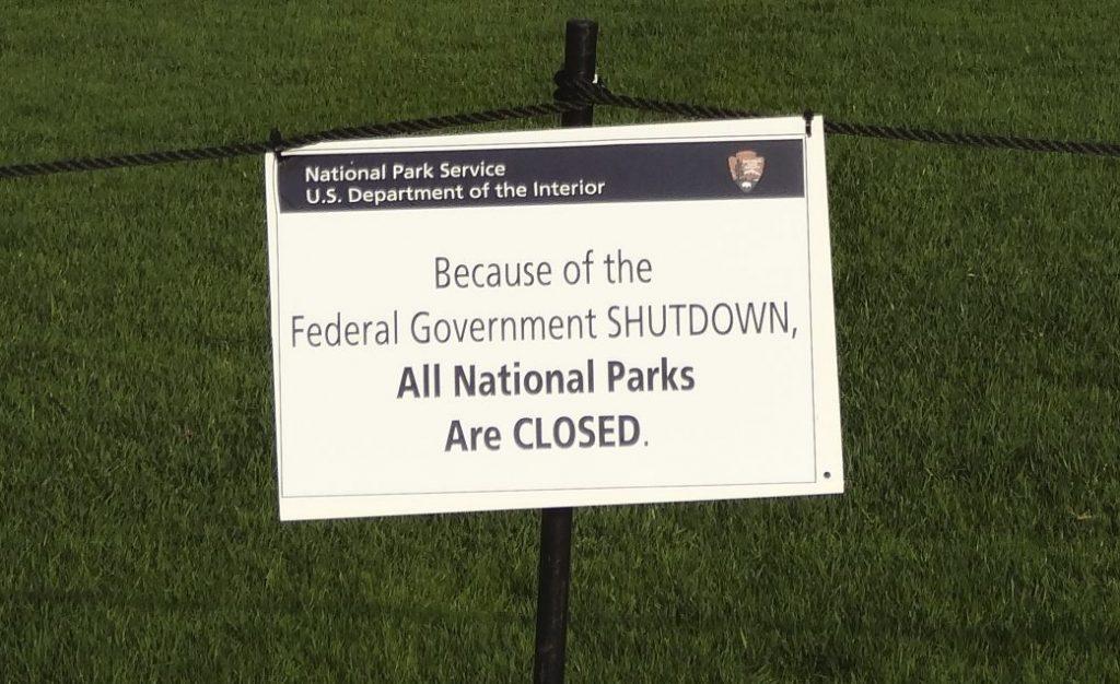 Government shutdown in 2013 (CC BY-SA 3.0 - wiki - Emw)