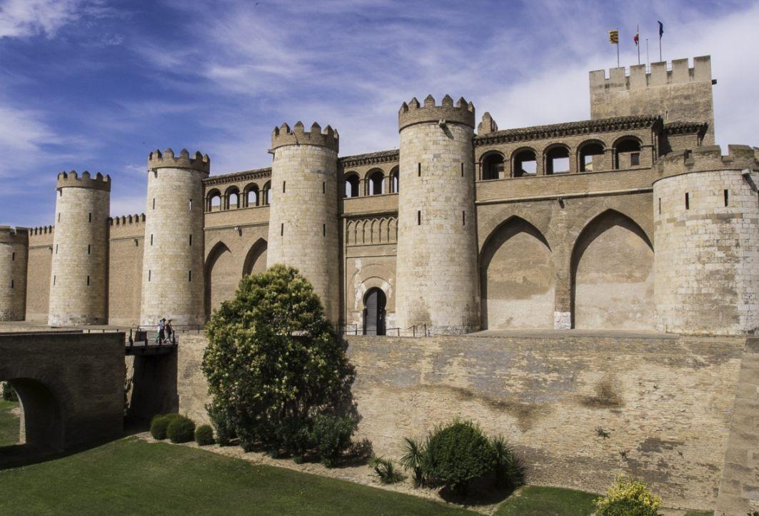 Aljafería van Zaragoza (CC BY 2.0 - Turol Jones - wiki)