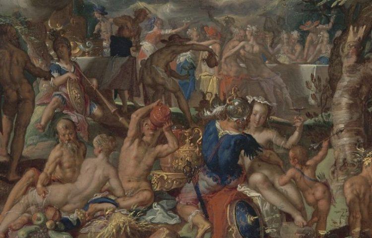 Detail van het werk (Centraal Museum)